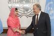 Secretary-General Meets Malala Yousafzai 2.827721