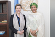 Deputy Secretary-General Meets Under-Secretary of State of Finland 7.2521853