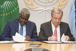 Signing of Joint AU-UN Framework for Enhancing Partnerships on Peace and Security 2.8252842