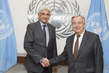 Secretary-General Meets Former UNHCR Special Advisor