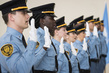 Graduation Ceremony for New UN Security Officers