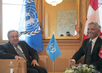 Secretary-General Meets Foreign Minister of Switzerland