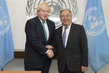 Secretary-General Meets UK Foreign Secretary