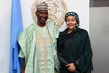 Deputy Secretary-General Meets New Permanent Representative Nigeria 7.2521853