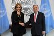Secretary-General Meets Head of Asia Society 2.82786