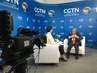 Secretary-General Interviewed by CGTN, Beijing 2.2622323