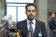 Syrian Opposition Representative Briefs Press, Geneva