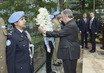 Wreath-laying Ceremony in Observance of the International Day of United Nations Peacekeepers