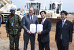 Departing Japanese Contingent Hands Over Heavy Equipment to UNMISS 4.4806285