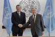 Secretary-General Meets Foreign Minister of Uruguay