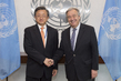 Secretary-General Meets Vice Foreign Minister of China 2.8299851