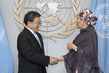 Deputy Secretary-General Meets Vice Foreign Minister of China 7.2369285