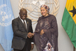 Deputy Secretary-General Meets President of Ghana 7.2369285