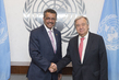 Secretary-General Meets Incoming Head of WHO 2.8302836