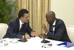 UN Security Council Meets with Haitian President 0.744659