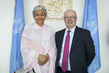 Deputy Secretary-General Meets UK Minister of State for International Development and the Middle East