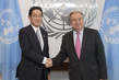 Secretary-General Meets Foreign Minister of Japan 2.8356295