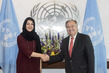 Secretary-General Meets Minister of State for International Cooperation of the United Arab Emirates 2.8356295