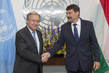 Secretary-General Meets President of Hungary