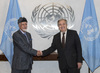 Secretary-General Meets Foreign Minister of Oman