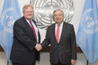 Secretary General Meets Head of Refugees International