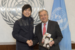 Secretary General Meets UN Messenger of Peace Lang Lang