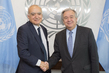 Secretary-General Meets Head of Libya Mission
