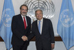 Secretary-General Meets Head of Italian Red Cross