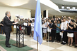 UN Staff Stand Together Marking World Humanitarian Day 4.2857065