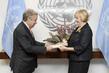 New Permanent Representative of Slovenia Presents Credentials 1.5680798