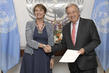 New Permanent Observer for International Organization of La Francophonie Presents Credentials 1.0