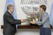 New Permanent Observer for International Organization of La Francophonie Presents Credentials