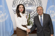 Secretary-General Meets UNHCR Special Envoy 5.7673635