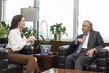 Secretary-General Meets UNHCR Special Envoy 1.0