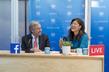 Secretary-General Participates in Facebook Live Session 1.0