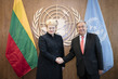 Secretary-General Meets President of Lithuania 1.0