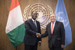 Secretary-General Meets President of Côte d'Ivoire 0.4131524