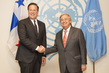 Secretary-General Meets President of Panama 2.8356247