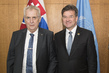 President of General Assembly Meets President of Czech Republic