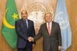 Secretary-General Meets President of Mauritania 2.8356247
