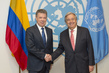 Secretary-General Meets President of Colombia 2.8355927
