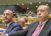 President and Foreign Minister of Turkey at Opening of General Debate 3.2240484