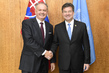 President of General Assembly Meets President of Slovakia 3.2240484