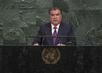 President of Tajikistan Addresses General Assembly 3.2240484