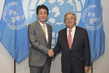 Secretary-General Meets Prime Minister of Japan 2.835798