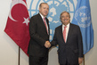 Secretary-General Meets President of Turkey