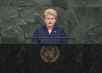 President of Lithuania Addresses General Assembly 3.2240484