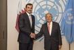Secretary General Meets Amir of Qatar 2.8355927
