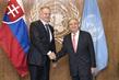 Secretary-General Meets President of Slovakia 2.8356247