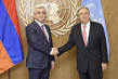 Secretary-General Meets President of Armenia